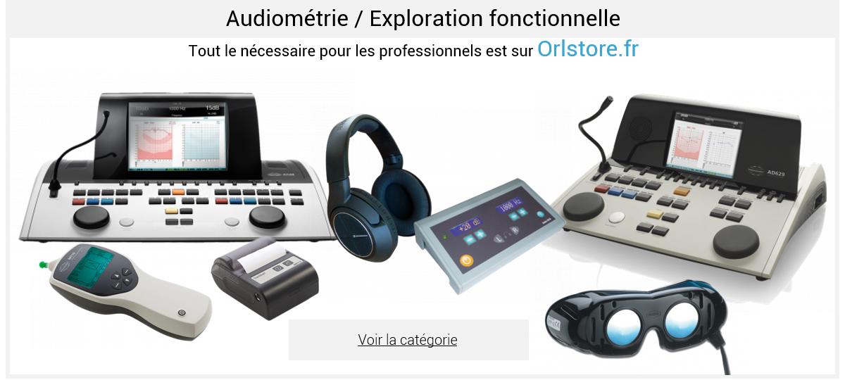 Audiométrie / Exploration fonctionnelle